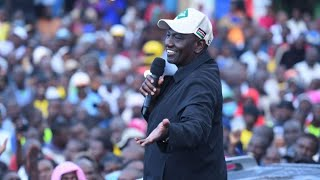 William Ruto Caught Lying in Kakamega About His Development Record in The Area.