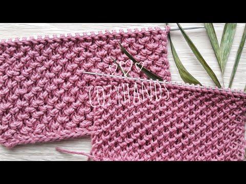 Узор для вязания спицами для варежек