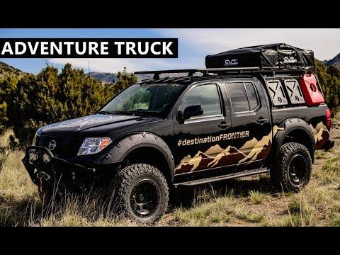 Custom Nissan Frontier >> Nissan Destination Frontier Custom Adventure Truck