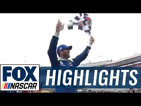 Jimmie Johnson Wins | 2017 BRISTOL | FOX NASCAR