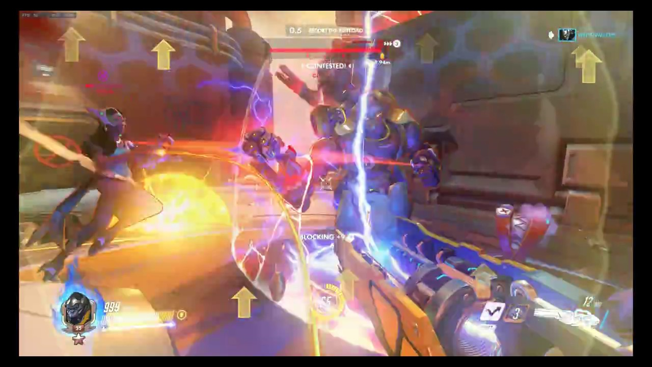 Fps drop from 60 to 30 fps - Overwatch