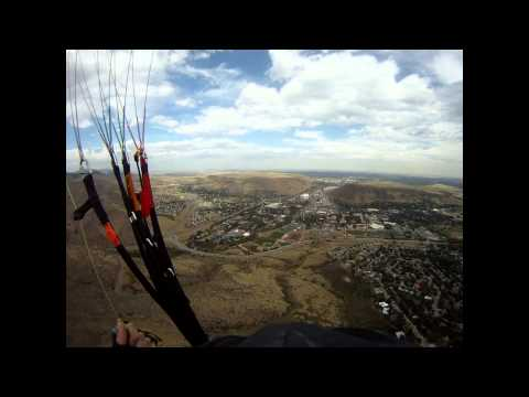 Paragliding Lookout Mountain in Golden, Colorado September 20, 2011
