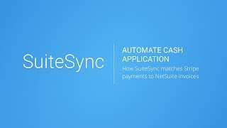 Automate Cash Application in NetSuite with Stripe