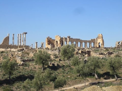 VOLUBILIS, MOROCCO, STILL STANDING, TAKE A LOOK...