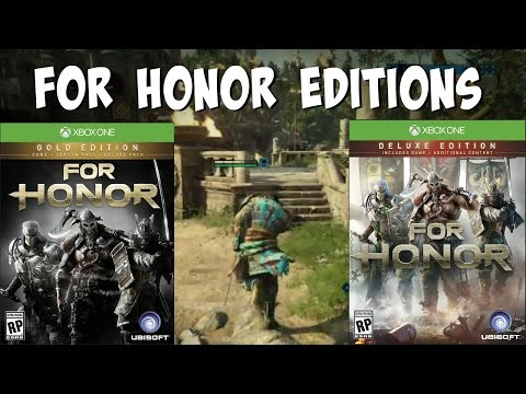 Which For Honor Edition Should You Buy? | Gold, Deluxe, Standard