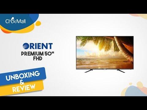 "Orient Premium 50"" FHD LED TV Unboxing l Clickmall"
