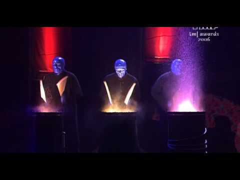 DJ Tiesto - Dance For Life with Blue Man Group in Amsterdam Awards Ceremony