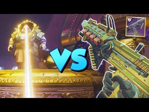 Ikelos SMG VS Calus! 2 Plate Kill [Destiny 2]