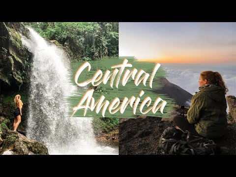 CENTRAL AMERICA | BACKPACKING TRIP 🌎