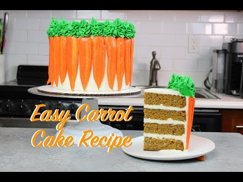 How To Make Carrot Cake From Scratch | CHELSWEETS