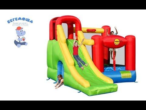 Надувной батут Игровой Центр 6 в 1 Happy Hop арт. 9060