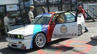 BMW M3 E30 group A movie YTCC Circuit of Zolder
