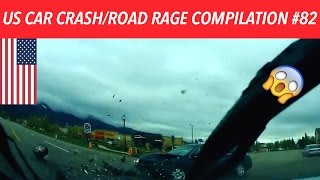 🇺🇸 [US ONLY] AMERICAN CAR CRASH/ROAD RAGE COMPILATION #82 [Summer Edition]