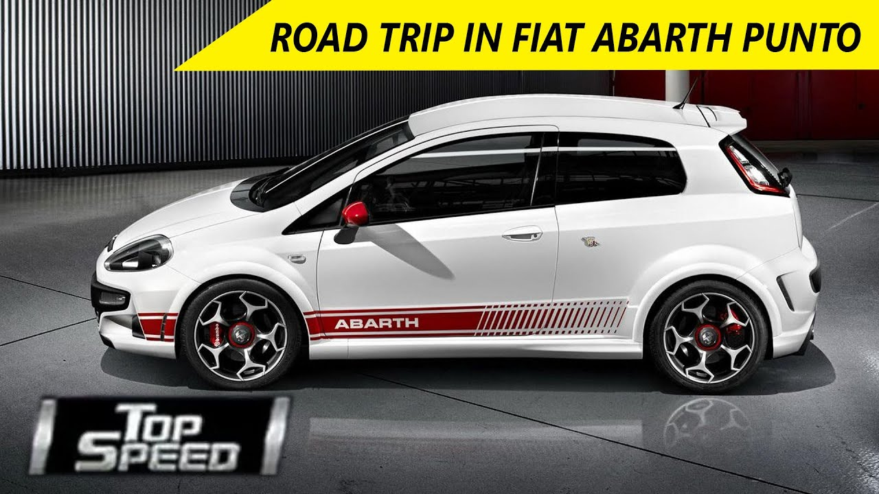 Top Sd- Road Trip In Fiat Abarth Punto - YouTube