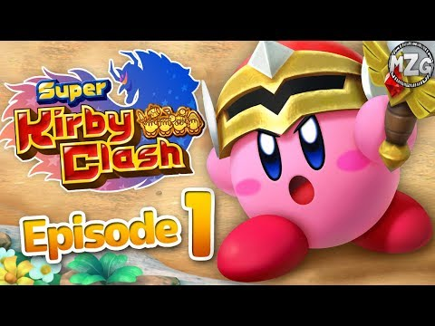 Super Kirby Clash Gameplay Walkthrough Part 1 - Story Quest! Sword Hero!