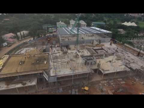Progress of Novare Central, Abuja Nigeria – July 2017