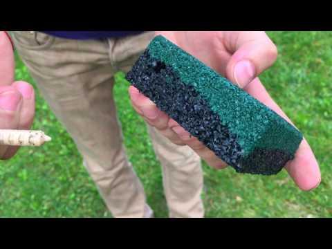 Резиновая плитка и бесшовное покрытиеиз YouTube · Длительность: 1 мин46 с