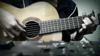 Bài Hát Tặng Em Guitar_cover by Quốc Dũng AOF♥♥♥Tặng người anh yêu♥♥♥