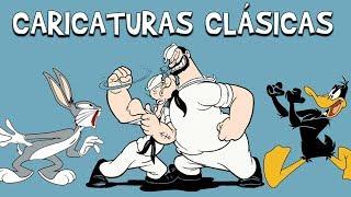 8 HORAS DE CARICATURAS CLÁSICAS: Lo Mejor de Popeye, Bugs Bunny, el Pato Lucas, Superman, etc HD