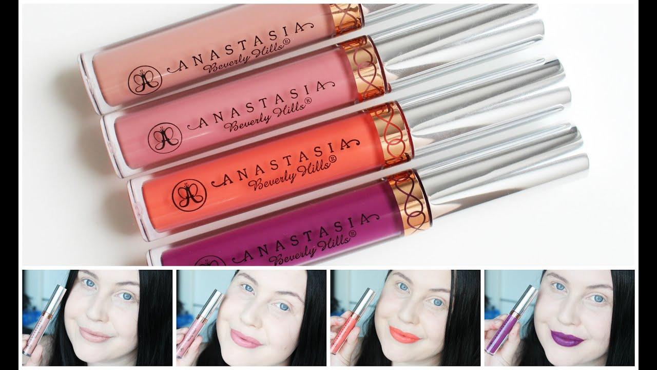anastasia beverly hills lipstick sverige