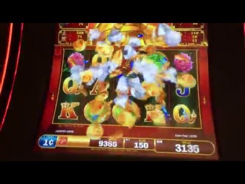 "Big Win! LIVE PLAY on ""FU YANG"" Progressive Bonus - Slot Machine - 동영상"
