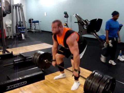 Travis Ortmayer- Deadlifts 765x7... almost