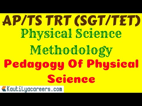 Physical Science  Methodology