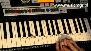 Jak zagrać na keyboardzie #2 Daj mi tę noc - Bolter - cz. 1