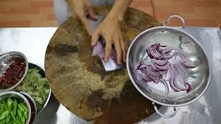 """厨师长教你:""""干锅花菜"""" 的正宗做法,在家做出饭店的好味道(高清重置版)"""