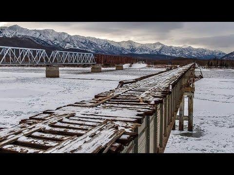 САМЫЙ ОПАСНЫЙ мост В МИРЕ (Витимский мост), ПРОЕХАТЬ на TOYOTA вдоль БАМа. Арктика 2019, часть 3.