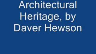 David Hewson - Architectural Heritage
