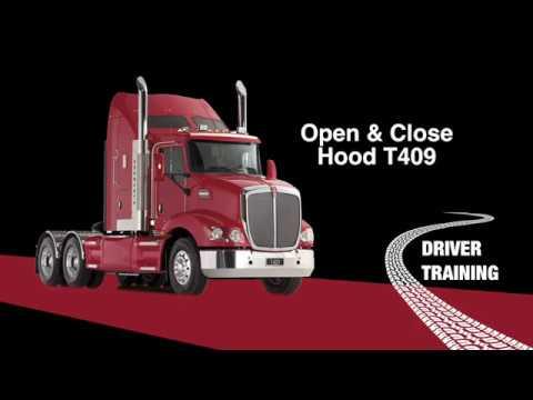 Kenworth T409 Hood Opening 0119