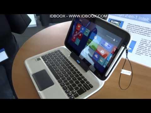 Tablette Intel Education 2 en 1 prise en main - IDBOOX