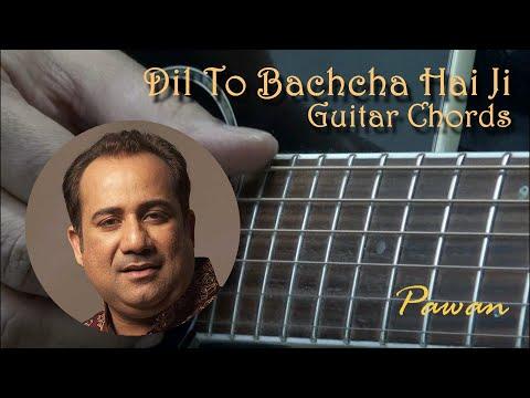 Dil To Bachcha Hai - Ishqiya - Guitar Chords Lesson