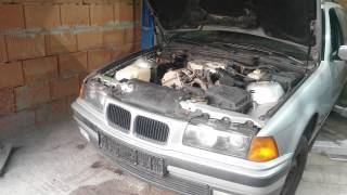 Motor ohne Öl Vollgas BMW 3er E36 Motorschaden Kolbenfresser