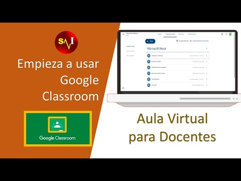 Empieza a usar Google Classroom Docentes 2018