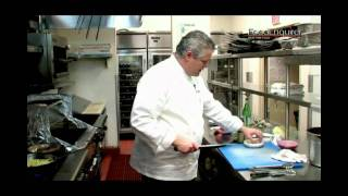Roasted Venison Loin Recipe From Chef Luciano Pellgerini.flv