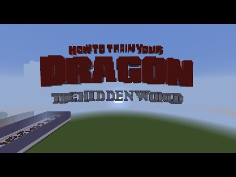How To Train Your Dragon: The Hidden World - Together From Afar [Minecraft Noteblocks]