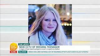 New CCTV of Missing Teenager Gaia | Good Morning Britain