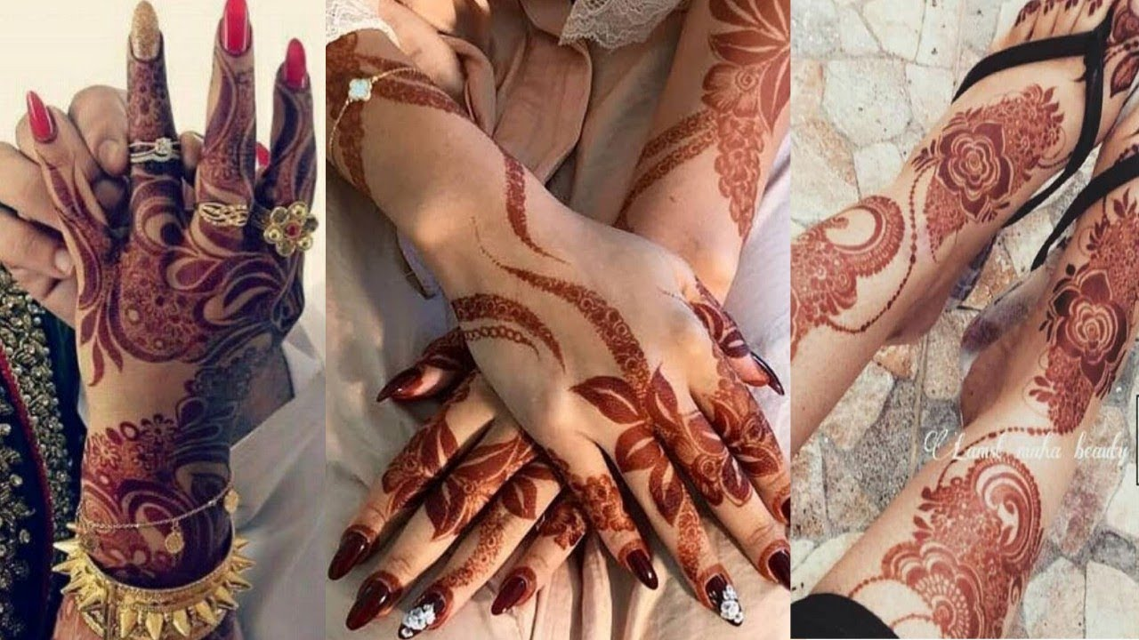 Latest Dubai Mehndi Designs 2018 Trendy Dubai Henna Designs 2018