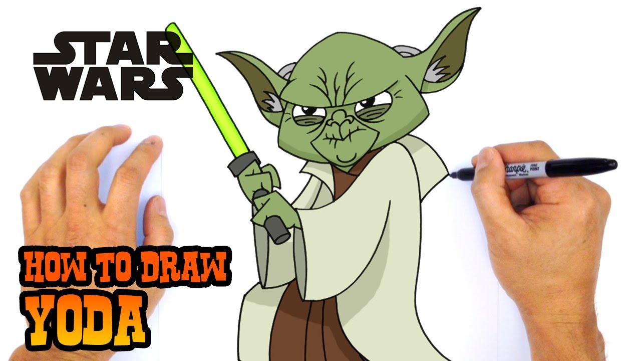 How To Draw Yoda Star Wars Youtube