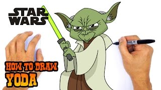 Video How to Draw Yoda | Star Wars download MP3, 3GP, MP4, WEBM, AVI, FLV November 2017