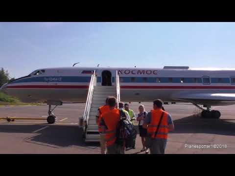 Полет ради полета! Tu-134A-3 RA-65726 Kosmos. Рейс Внуково-Жуковский. Москва!!!