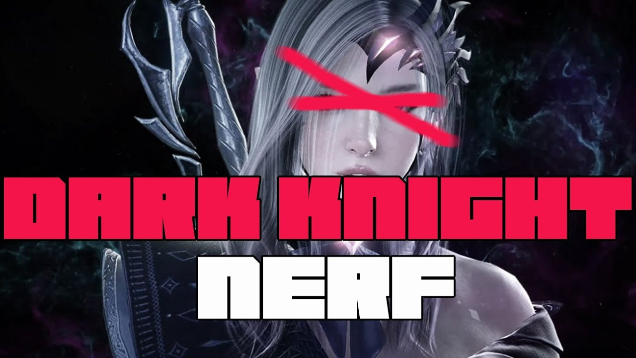 Black Desert Online Dark Knight Gets Nerfed Hard Youtube