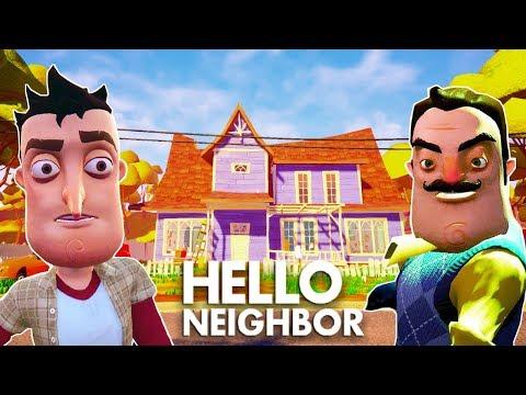 НОВЫЙ ДОМ и НОВЫЕ ТАЙНЫ ПРИВЕТ СОСЕД! игра Hello Nieghbor #1