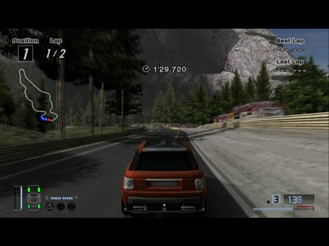 Gran Turismo 4 - Land Rover Range Stormer Concept '04 PS2 Gameplay HD