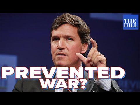 Krystal and Saagar: Did Tucker Carlson keep us out of war?