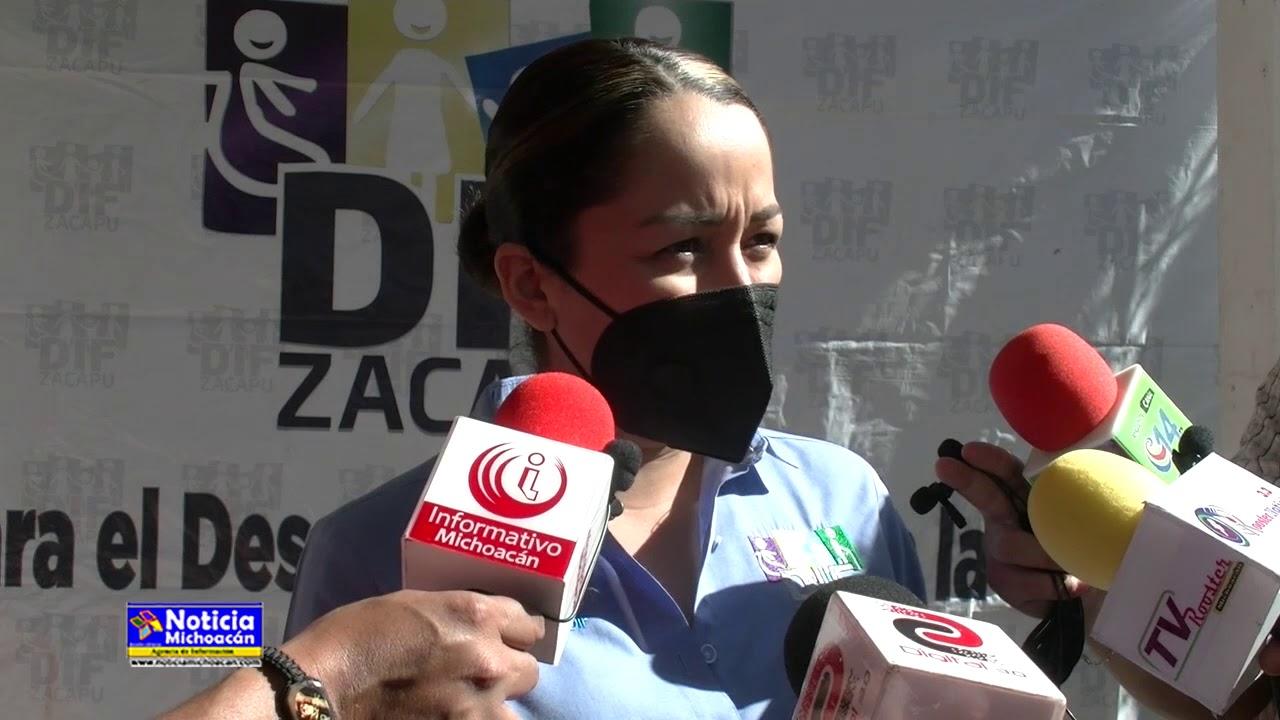Programa de despensas del DIF Zacapu beneficiarán un sector específico de la población
