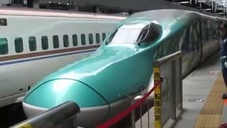 【単独運転】東北新幹線H5系はやぶさ19号新青森行東京駅発車!