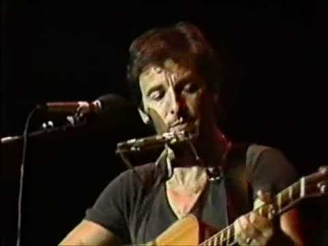 Bruce Springsteen - MANSION ON THE HILL 1986   - acoustic